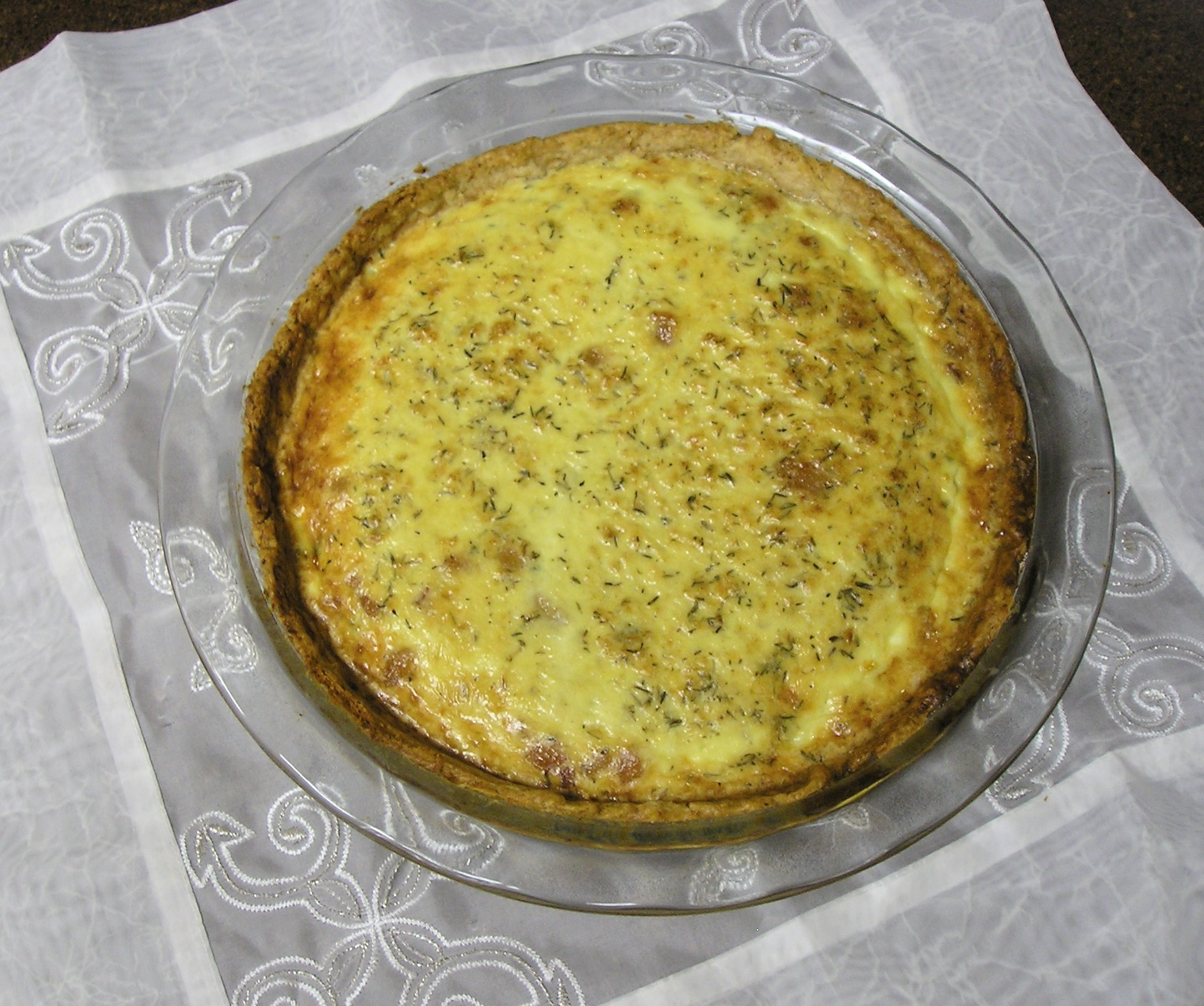 Caramelized Pear and Gorgonzola Quiche (brought by to you by Closet ...