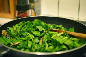 spinach-going-in