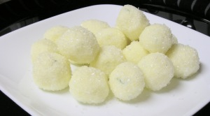 White Chocolate Mojito Truffles