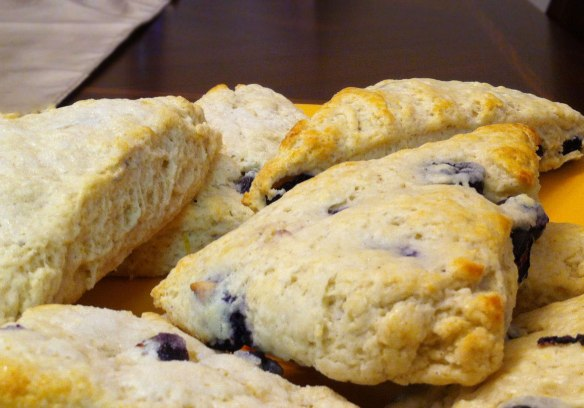 Blueberry Cardamom Scones