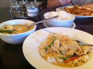Rain Thai Bistro, Chattanooga TN